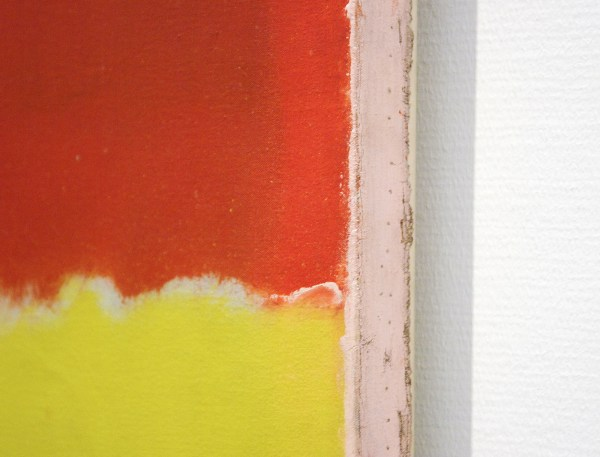 Marc Rothko - Zonder Titel - Mixed Media op doek, 1956 (detail)