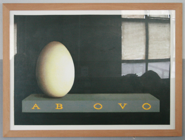 Marc Ruygrok - Ab Ovo - 100x140cm Olieverfstift op paneel