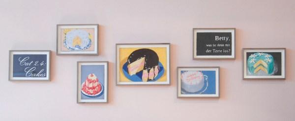 Marcel van Eeden - serie Cakes - 19x28cm & 28x38cm Potlood op papier