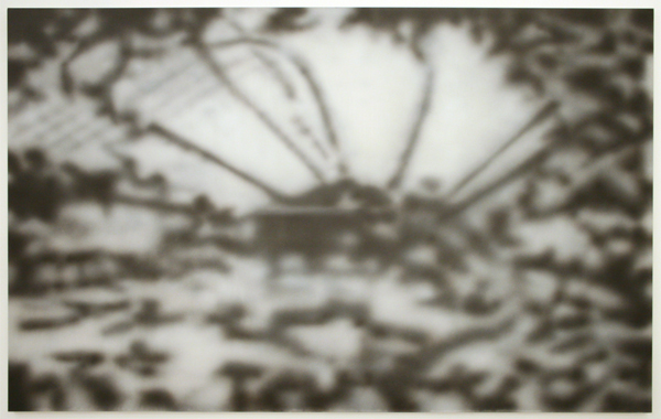 Marielle Buitendijk - Gewachshaus - 150x240cm Acrylverf op paneel