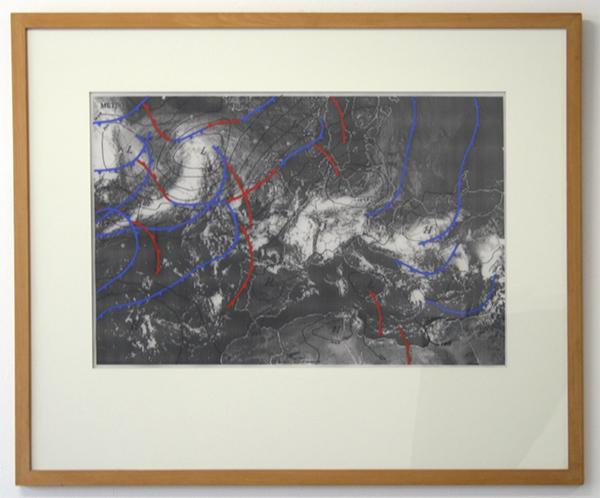Marinus Boezem - Wheater Drawings - Tekening op papier