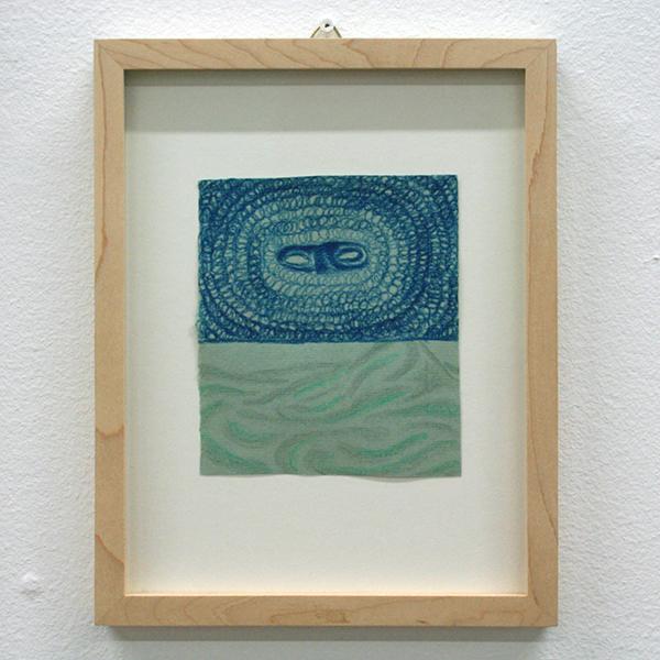 Marisa Rappard - Vision - 12x11cm Potlood op gekleurd papier