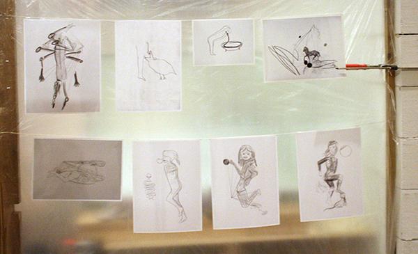 Mark Manders - Studio - Ateliersituatie vanaf 2008