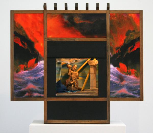 Markus Selg - Delphi - The Human Rainbow - Installatie