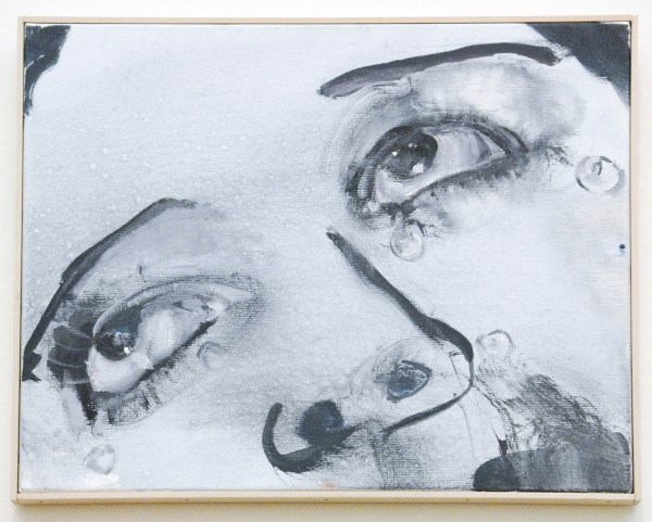 Marlene Dumas - Glass Tears (for Man Ray) - Olieverf op doek, 2008