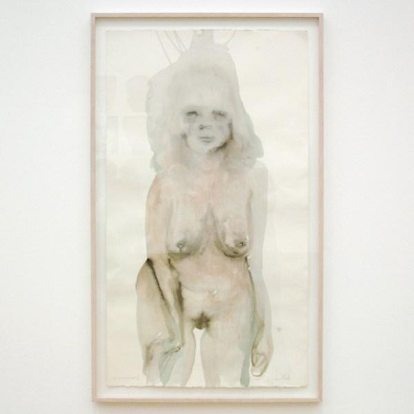 Marlene Dumas - Labelled - Inkt en acrylverf op papier, 1998