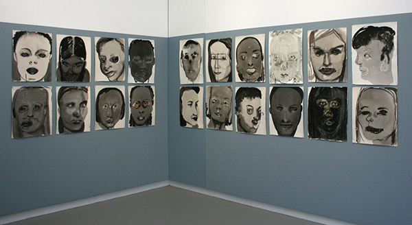 Marlene Dumas - Rejects - Verschillende technieken op papier