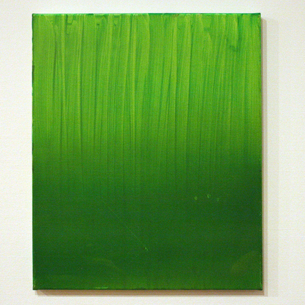 Michiel Ceulers - It's Not Easy Being Green - Olieverf en acrylverf op doek