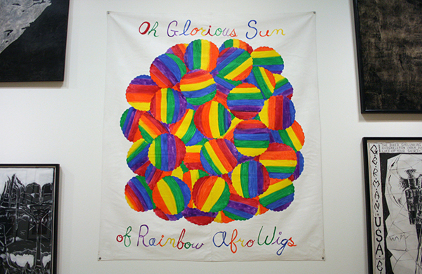 Mike Kelly - Rainbow Coalition - Acrylverf op los doek