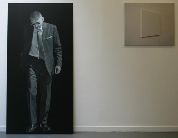 Monica Ragazzini - Piazza Duomico - 180x90 Inktjet op spiegel & Jurriaan Molenaar - Deze plek - Foto