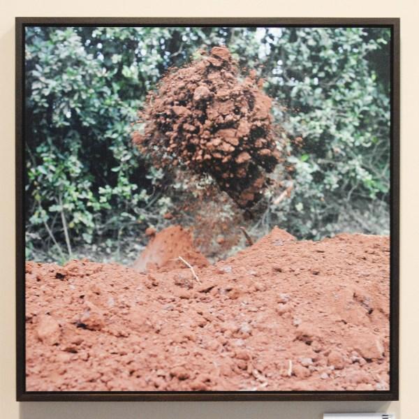 Natascha Libbert - Dry Mud - C-print in lijst (oplage 7) €1000,-