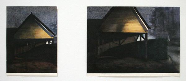 Nathalie Duivenvoorden - Serie 2# - Kleurpotlood op papier