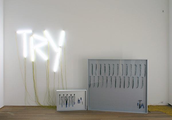 Navid Nuur - Tentacle Thought N 3 (Try) & 5 (Hocus Focus) - Aangepaste lichtbakken, kabels en gereedschap 2006-2010