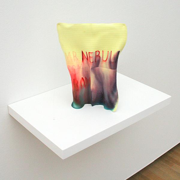 Navid Nuur - Untitled (Mister Nebula Comes From) - Inkt en opgedroogd vaatdoekje 2007