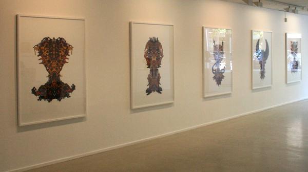 Nick Ervinck - Diverse werken - 155x122cm Prints