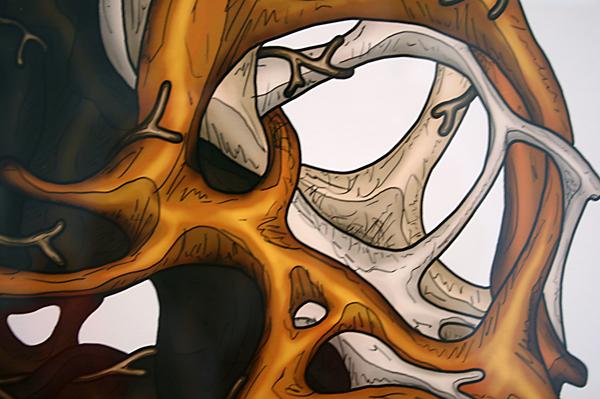 Nick Ervinck - Uarkiorz - 155x120cm Print (detail)