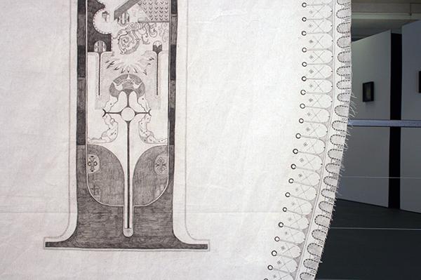 Niels Broszat - Chassuble d'un geant I (detail)