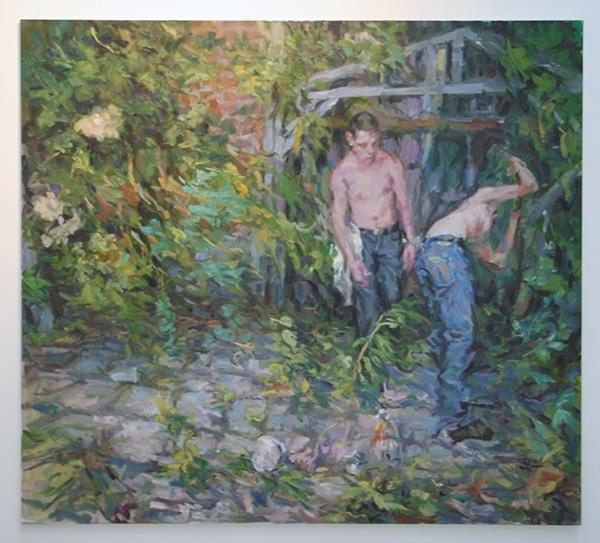 Niels Smits van Burgst - Gardeners World - 180x200cm