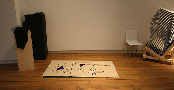 Ola Vasiljeva - The Limp of a Letter - Installatie