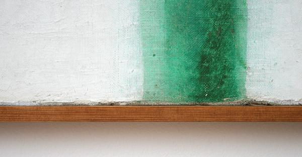 Olga Rozanova - Groene Streep (Kleurenschilderij) - Olieverf op doek 1917 (detail)
