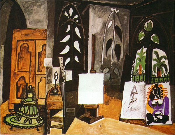 Pablo Picasso - Studio of California in Cannes - 114x146cm