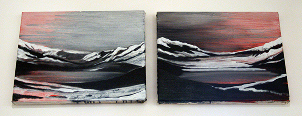 Par Stromberg - Mother North I & II - 24x30cm Olieverf op canvas