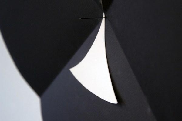 Paul Drissen - Vlak Rond Vouw - 38x39x6cm Papier (detail)