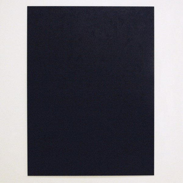 Paul Geelen - Monochrome (Black) - 90x120cm Parafine olie, was en pigment