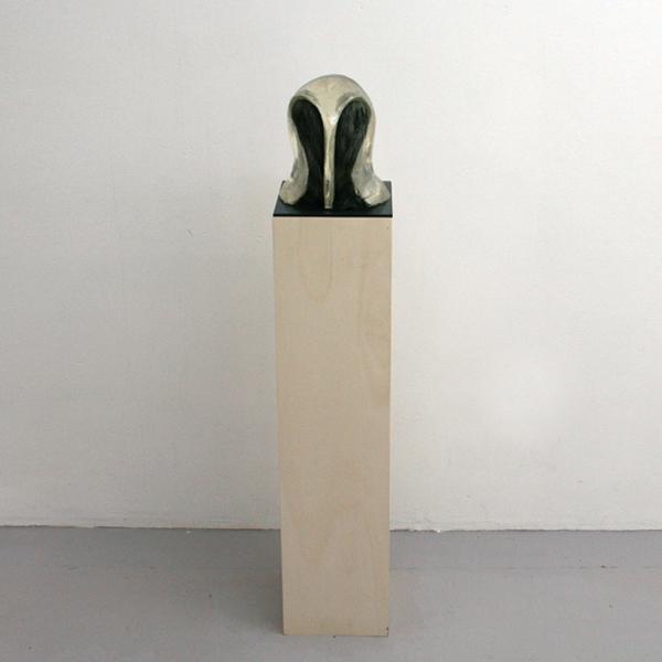 Paulien Follings - Lucent - 120x26x22cm Epoxy, stof, glas en hout