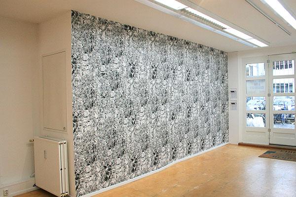 Persijn Broersen & Magrit Lukacs - Wallpaper Avatar - Per vel, 95x60cm, Zeefdruk op papier