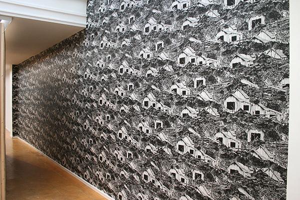 Persijn Broersen & Magrit Lukacs - Wallpaper Wizard of Oz - Per vel, 95x60cm, Zeefdruk op papier