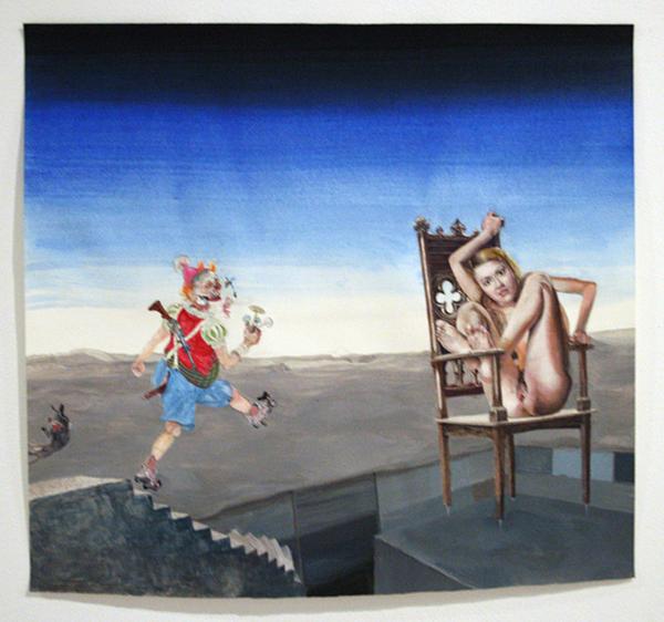 Peter Feiler - Trial - 53x51cm