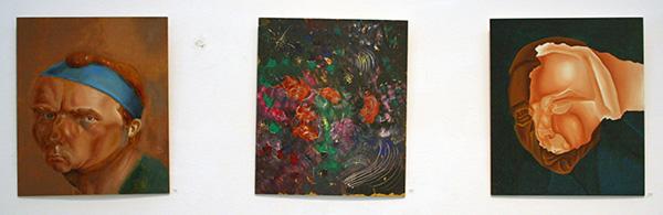 Philip Akkerman - #96, #93 & #128 - 40x34cm