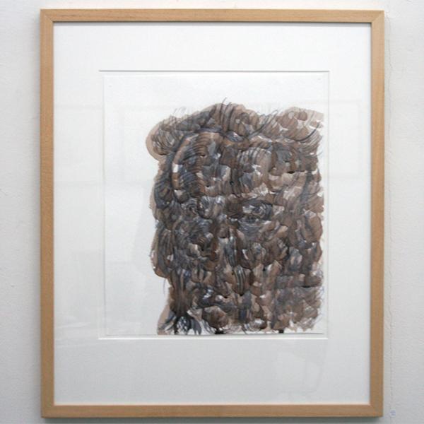 Philip Akkerman - nr 68 - 40x34cm Potlood op papier