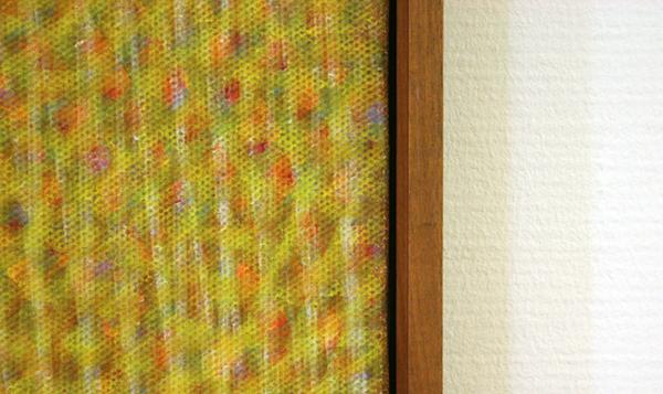 Piero Dorazio - Qualites jaunes (detail)