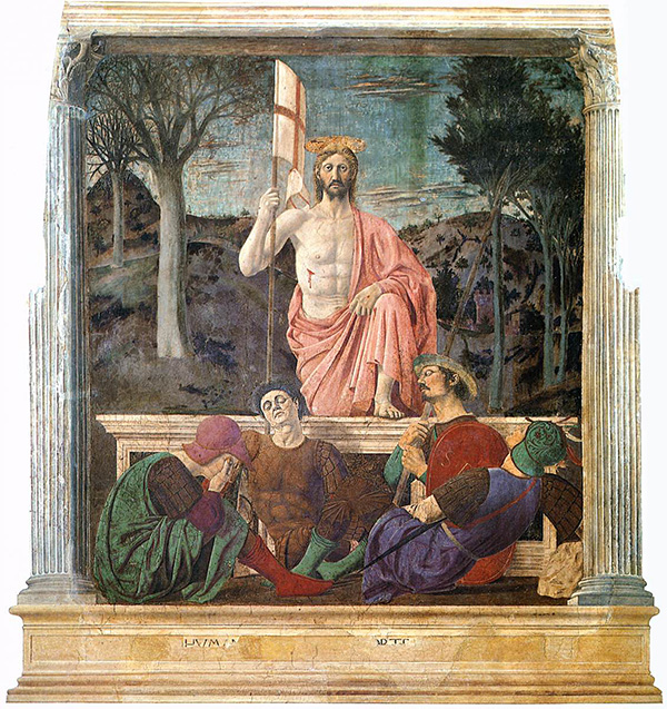 Piero della Francesca - The Resurrection of Jesus Christ