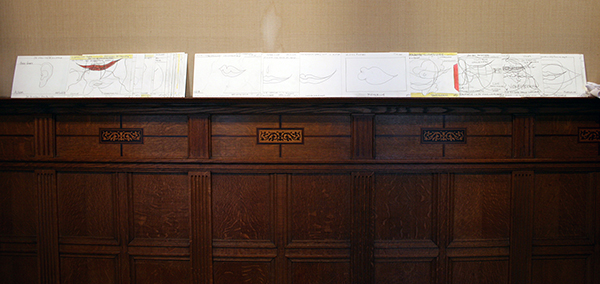 Piet Dirkx - Taalpap - 14x9cm, 30 bladzijden leporello