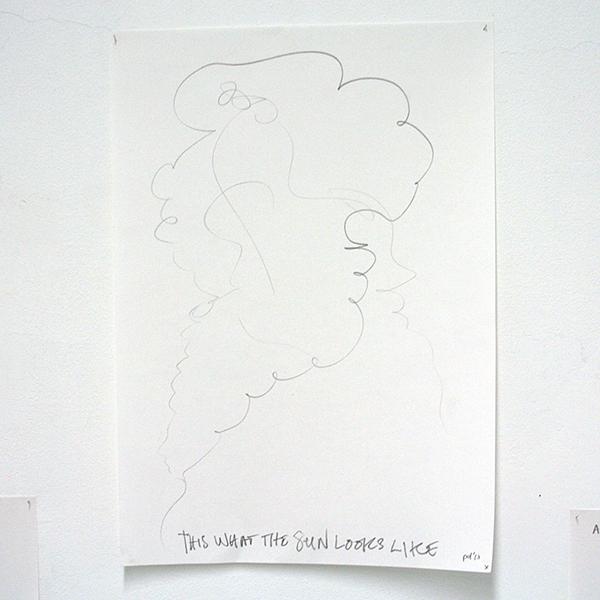Piet Dirkx - Zonder Titel (?) - 28 tekening op papier (detail)