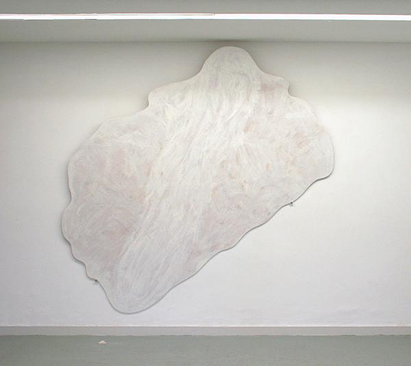 Piet Drikx - Zonder Titel (?) - 210x210cm Alkydverf op paneel