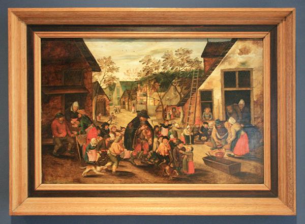 Pieter Breughel de Jonge - De Liereman - Olieverf op paneel