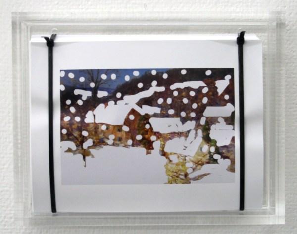 Pieterjan Ginckels - Fallout Farm III - 22x28x6cm 250 Offset prints, kabelbinders en plexiglas