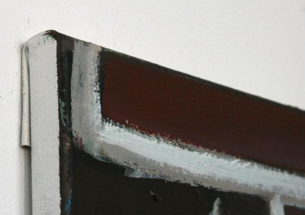 Pim Blokker - Zonder Titel - 80x70cm Olieverf op linnen (detail)