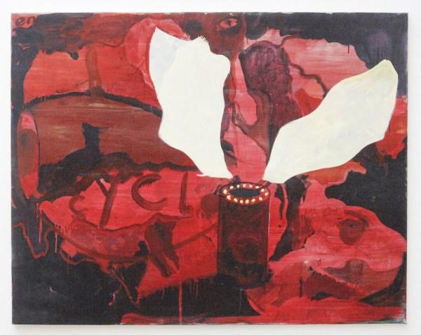 Rene Daniels - Het Romeins Wastafeltje - Olieverf op doek, 1983