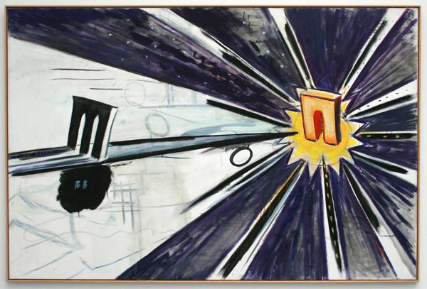 Rene Daniels - Historia Mysteria - Olieverf op canvas