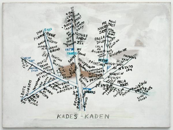 Rene Daniels - Kades-Kaden Olieverf op doek
