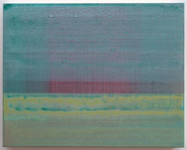 Rene Korten - Peel 3 - 28x35cm Acrylverf op masoniet