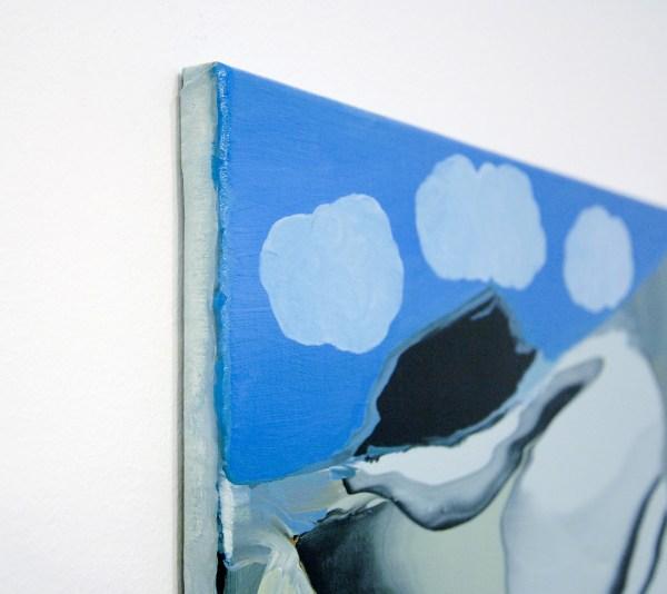 Rezi van Lankveld - Best Friends - 55x48cm Olieverf op canvas (detail)