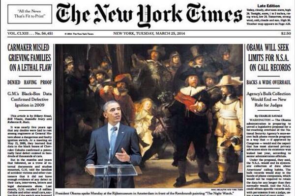 Rijksmuseum New York Times