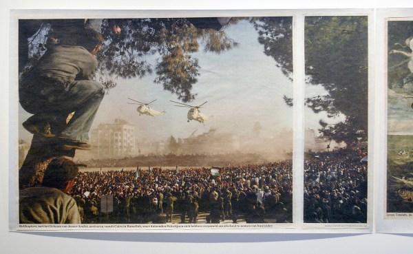 Rob Johannesma - Arafat - Tintoretto - 164x259cm & 161x264cm Inkjet op 308grams Hahnemuhle papier