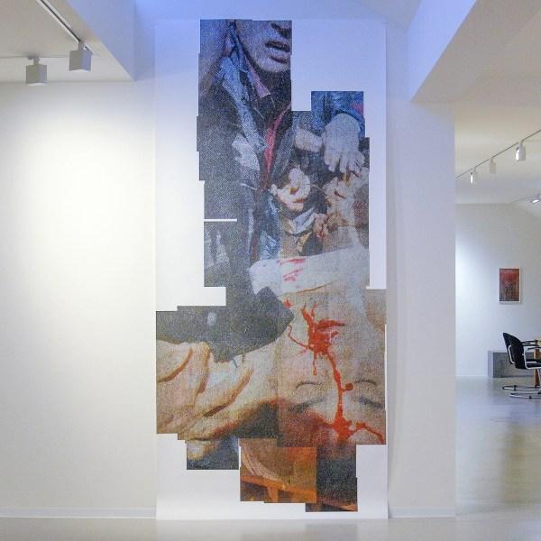 Rob Johannesma - Face - 341x162cm Inkjet op katoen gebasseerd 308grams Hahnemuhle papier